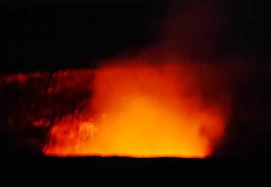 キラウエア火山噴火