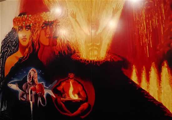 ハワイ 火の女神ペレ