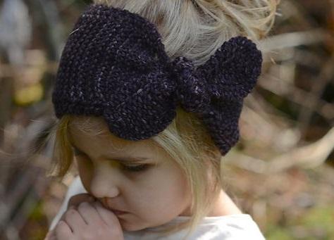 編み物初心者さんの練習にも!編んで作るニットのヘアバンドの作品集