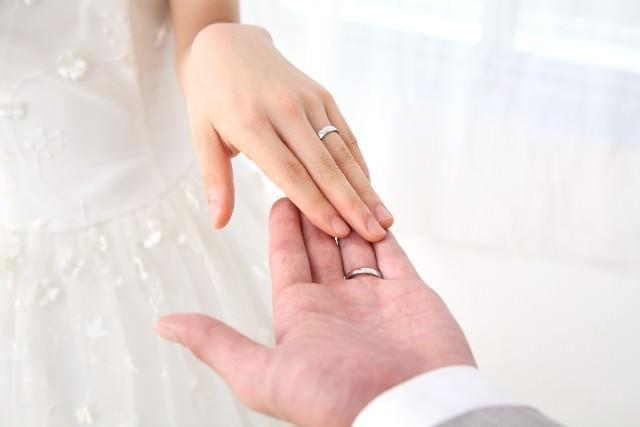 結婚指輪 時期
