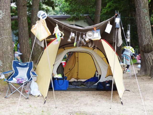 キャンプ 蚊