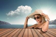 日焼け防止 帽子