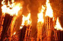鞍馬の火祭 2015