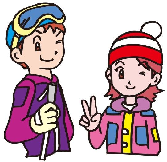 女性 スキー 服装