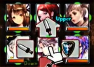 戦闘シーン 剣 盾