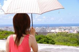 母の日のプレゼントの日傘