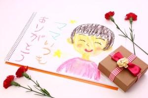 母の日のプレゼントの似顔絵