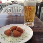 ビールのお供にカマンベールフライが美味い! 沖縄市で居酒屋をお探しながら中の町ビガーデンへ!