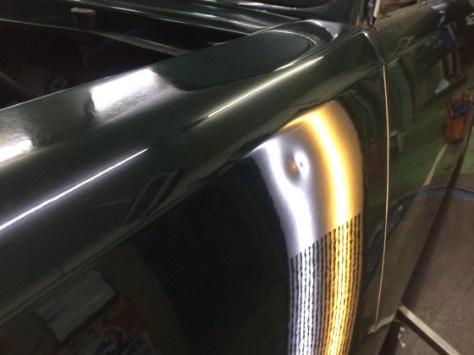 いすゞベレット1800 デントリペア京都 へこみ修理京都 ドアパンチ修理京都 2014-04-27 19.07.00