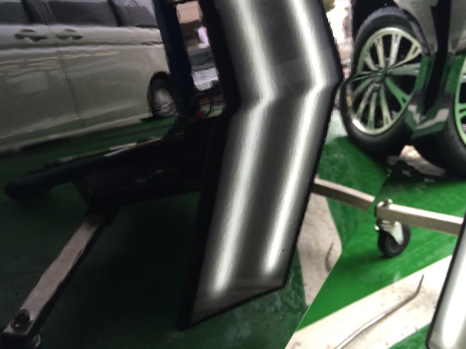 Honda N-BOX SLASH ホンダNボックス スラッシュ 右フロントドアのへこみ修理