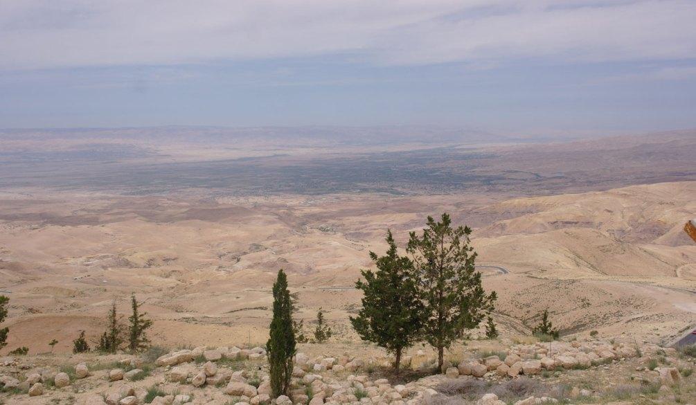 Vallée du Jourdain, en Israël