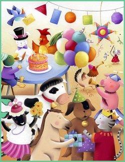 fiesta de animales