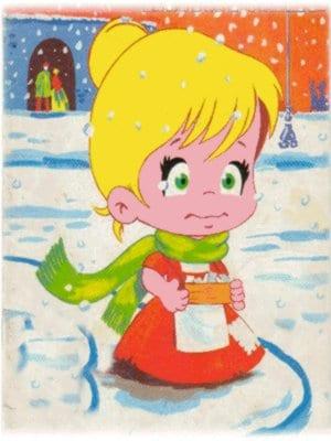 nina-en-la-nieve