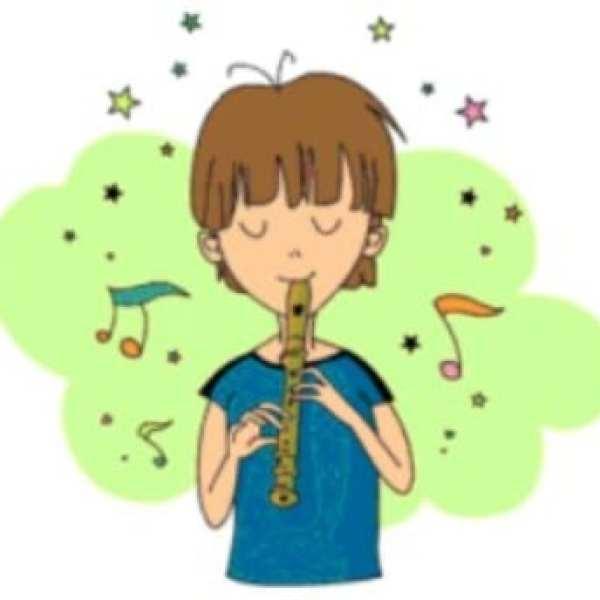 hombre y la flauta