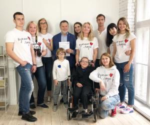 Артист А.Ярмоленко на съёмках проекта «Нужные Дети»