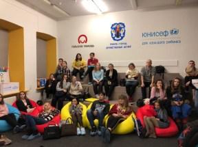 Обмен опытом в школе волонтёров