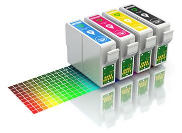 インクジェット紙とインクジェット写真用の年賀はがきは 「染料インク」のインクジェットプリンター用