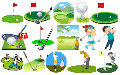 ゴルフ用素材