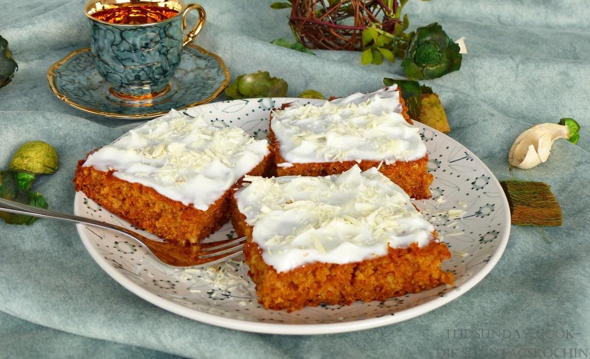 Iss was gesundes...Karotten-Mandel Kuchen