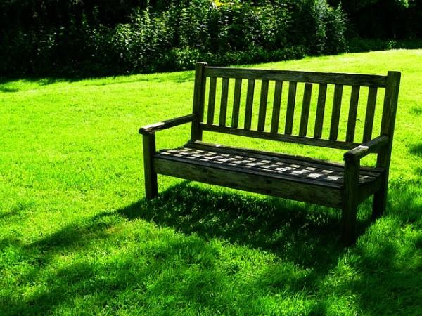 公園でゆっくりリラックス