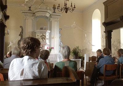 Juli 2015 Orgelkonzert in Lüdersdorf
