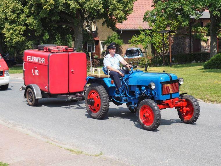 Jubileum 90 Jahre Freiwillige Feuerwehr Lüdersdorf Juni 2016
