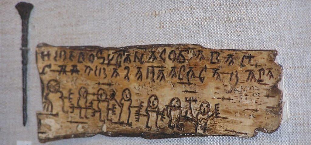 Писало в древней руси фото