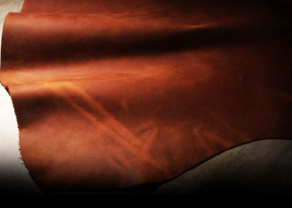 ナポレオンカーフの天然皮革