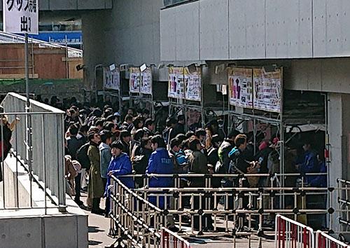 ユニット対抗戦 東京 物販 混雑