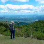 【蘇武岳】万場登山口から登山開始。ブナの新緑がとても綺麗で、山頂からの展望も最高!!(兵庫県豊岡市)