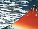 赤い冨士山