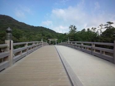 伊勢神宮の神宮橋