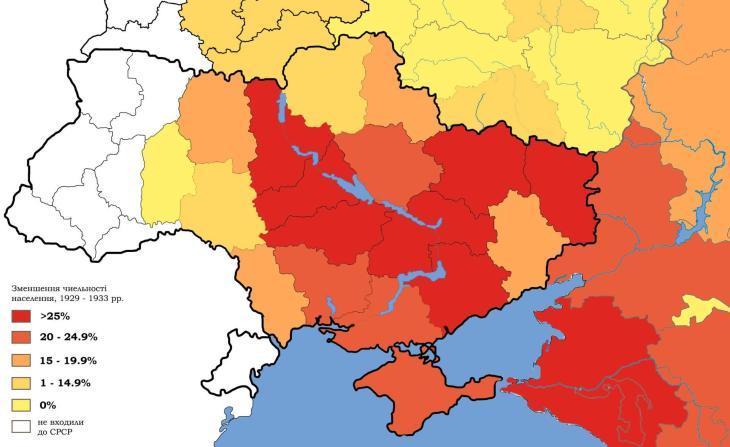 Načrtno zmanjšanje populacije v Ukrajini