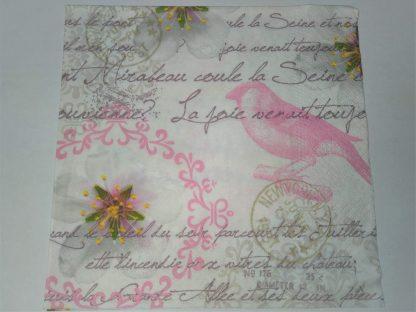 Servilleta vintage