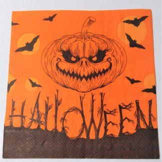 Servilleta Halloween calabaza
