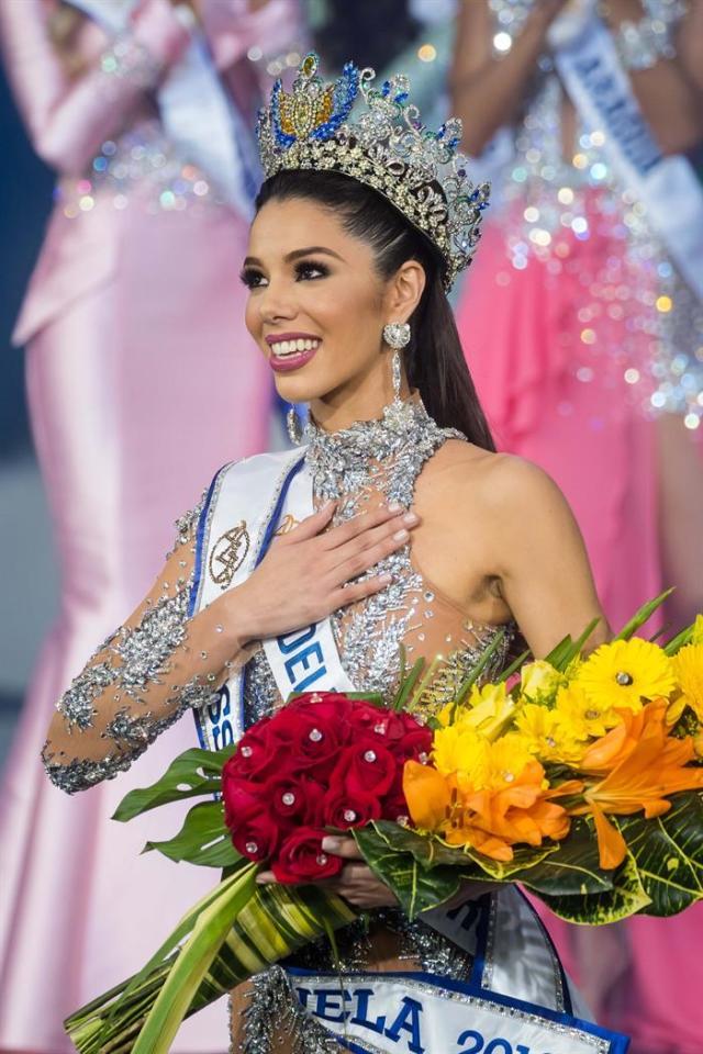 Olvino gana la corona del Miss Venezuela 2019