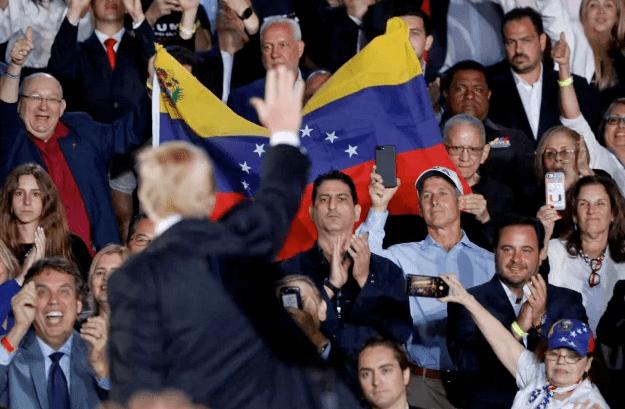 """El AUDIO de Trump donde confirma que tiene a Venezuela """"más rodeada de lo que nadie piensa"""""""