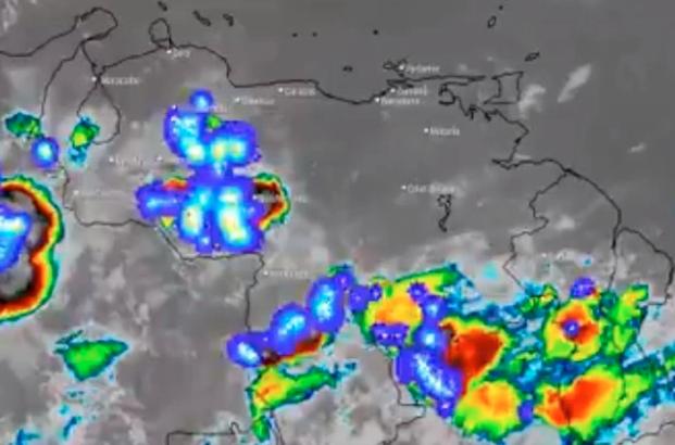 El estado del tiempo en Venezuela este martes #26May, según el Inameh