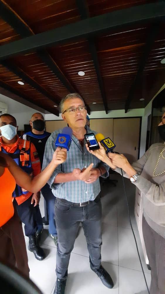 José Fernández, alcalde de Los Salias: «Comercio que no cumpla con el protocolo sanitario será cerrado inmediatamente»