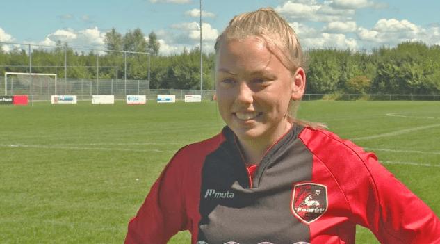 Conoce a Ellen Fokkema, la primera mujer que jugará de forma profesional en un equipo de fútbol masculino