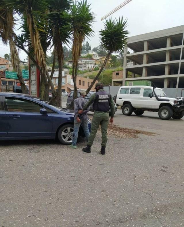 GNB detiene a hombre que vendía cupos para repostar combustible en la E /S Auxiliadora