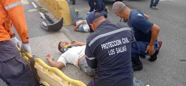 «7 accidentes en 10 días», autoridades alertas ante incremento de accidentes de tránsito en Los Salias