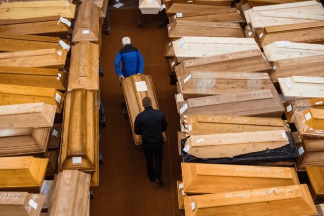Crematorio en Alemania desbordado por las víctimas del coronavirus