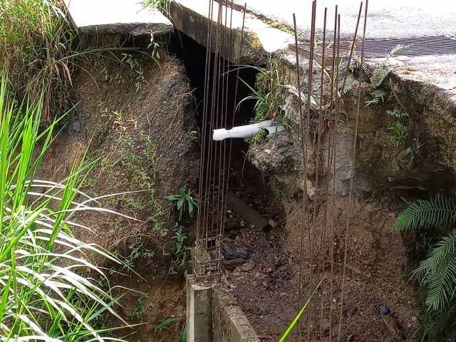 Fallas de borde avanzan en Carrizal y amenazan con incomunicar Llano Alto