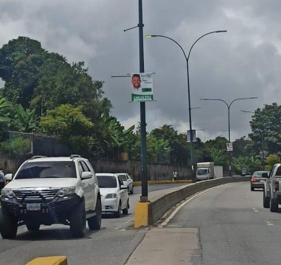CNE retirará propaganda política que viola cronograma electoral en Altos Mirandinos