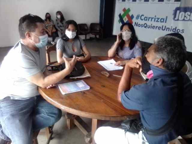 Comando de la Unidad en Carrizal cambia formato de consultas públicas de su Plan de Gobierno