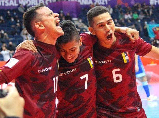 Venezuela avanzó invicta a los octavos de final del Mundial de Futsal