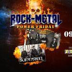 Sun'N'Steel & Black Angels **Power Friday**