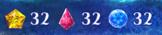 指定された数の氷の結晶
