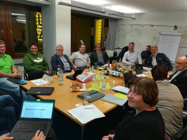 Treffen der Fraktion mit den Stadtteilausschussmitgliedern